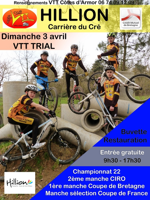 Affiche TRIAL 03.04.2016